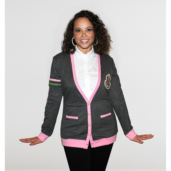AKA VARSITY CARDIGAN ALPHA CHAPTER SP 94