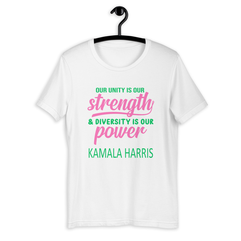 KAMALA HARRIS UNITY POWER Short-Sleeve T-Shirt (AKA)