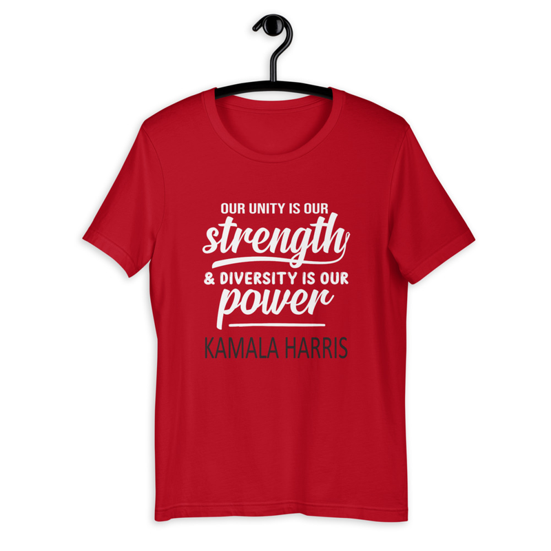 KAMALA HARRIS UNITY Short-Sleeve T-Shirt (DST)