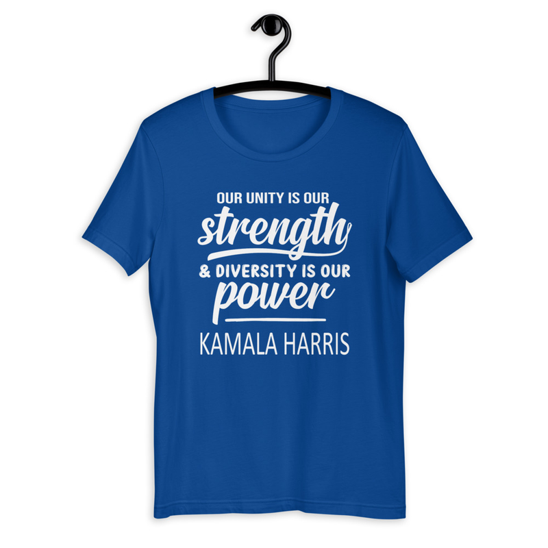 KAMALA HARRIS UNITY Short-Sleeve T-Shirt (ZPHIB)